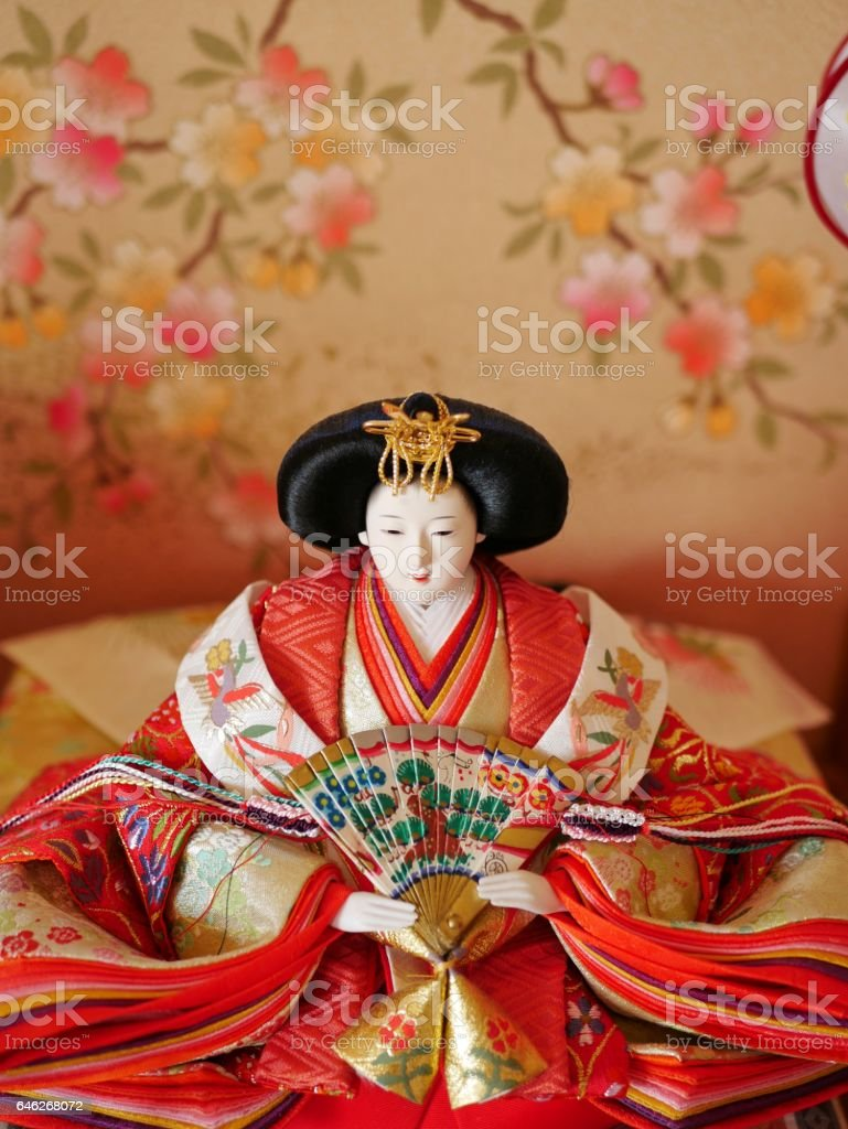 The doll festival on March 3 in Japan Hina-matsuri お雛様 ひな祭り stock photo