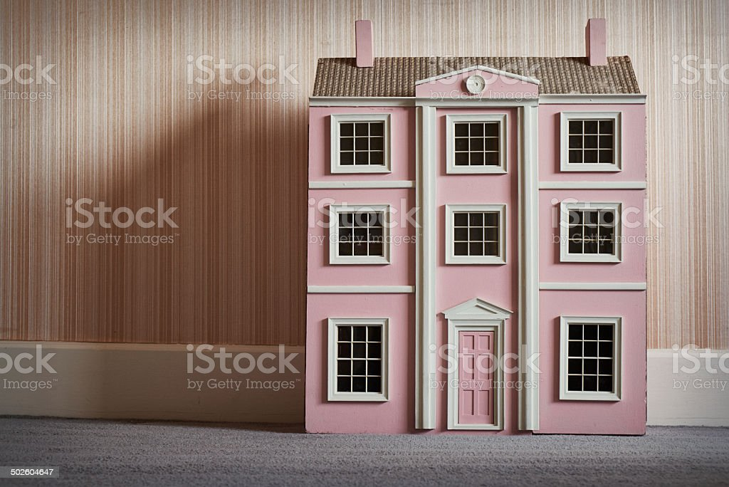 The Dolls House stock photo