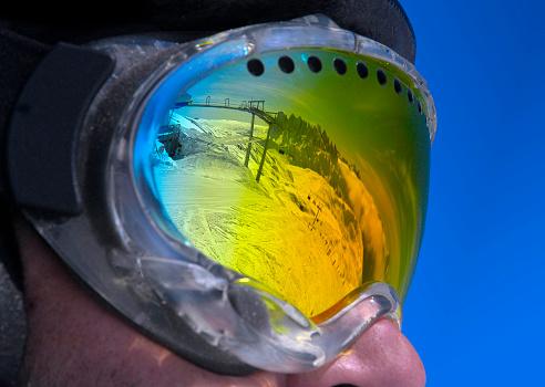 The Dolomites in glasses
