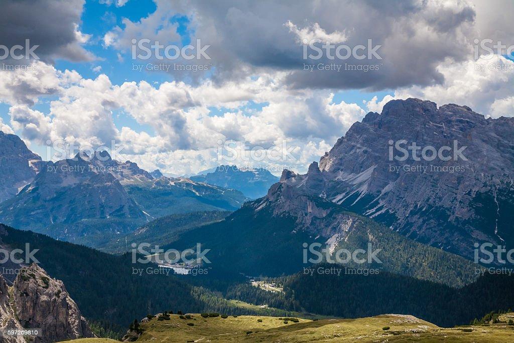 The Dolomites, Italy royalty-free stock photo