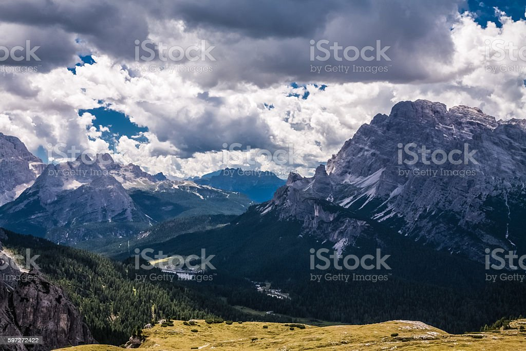 The Dolomites, Italy royalty-free stock photo