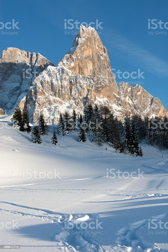 The Dolomites, Northern Italy stock photo