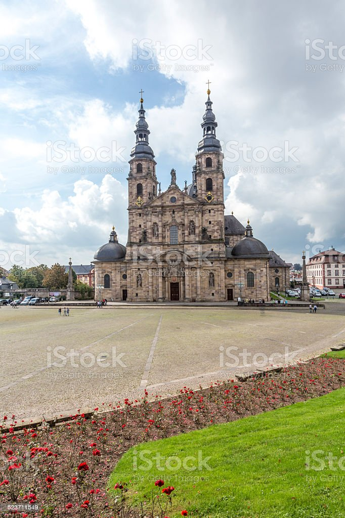 The Dome of Fulda stock photo