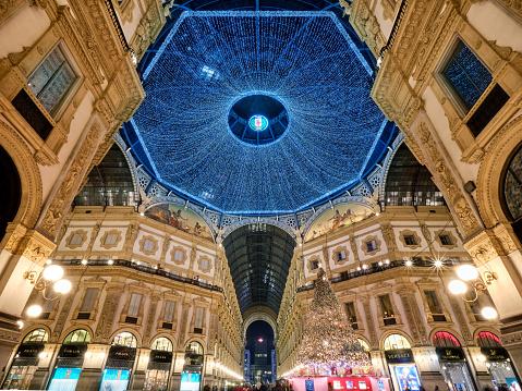 The dome of Galleria Vittoria Emanuele II