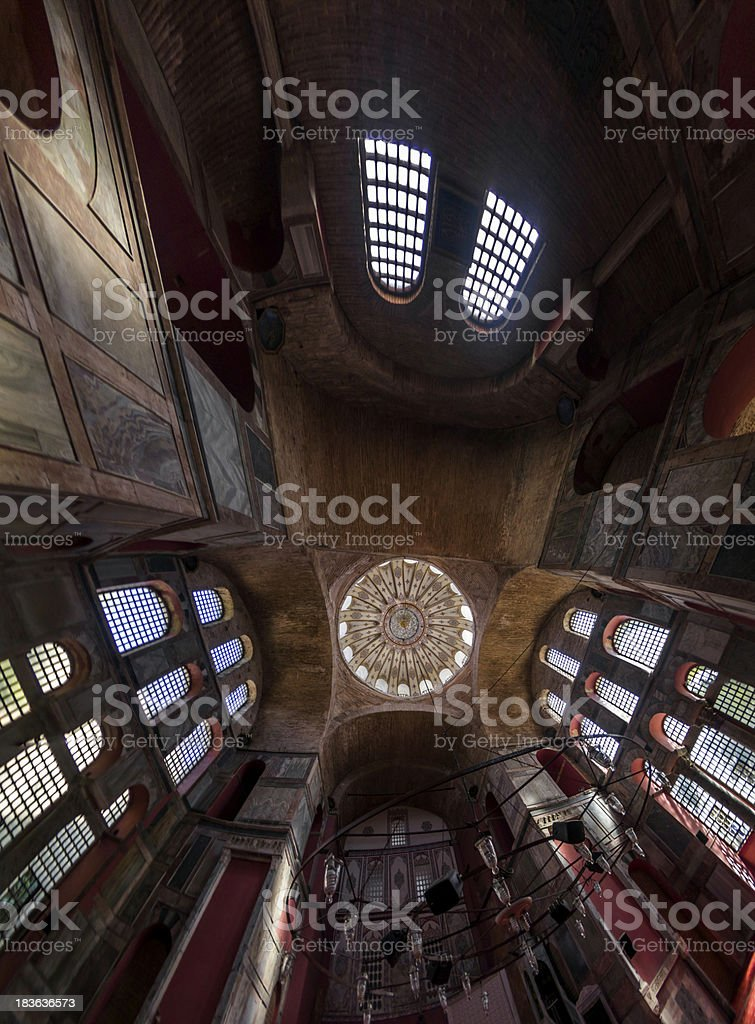 The Dome of Kalenderhane Mosque royalty-free stock photo