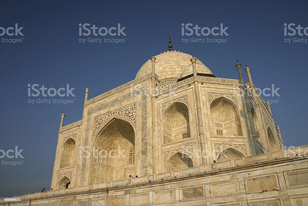 The Dome of Taj Mahal royalty-free stock photo