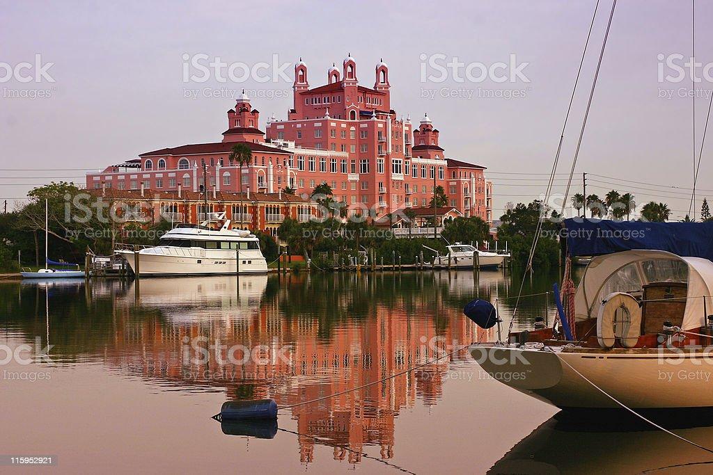 The Don Hotel in Saint Pete Beach Florida stock photo