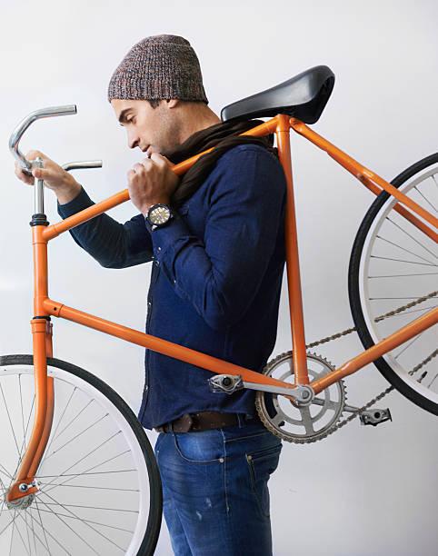 die nicht bauen sie mehr bilder wie dieses - fahrradträger stock-fotos und bilder
