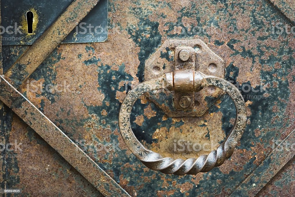 The door handle royalty-free stock photo