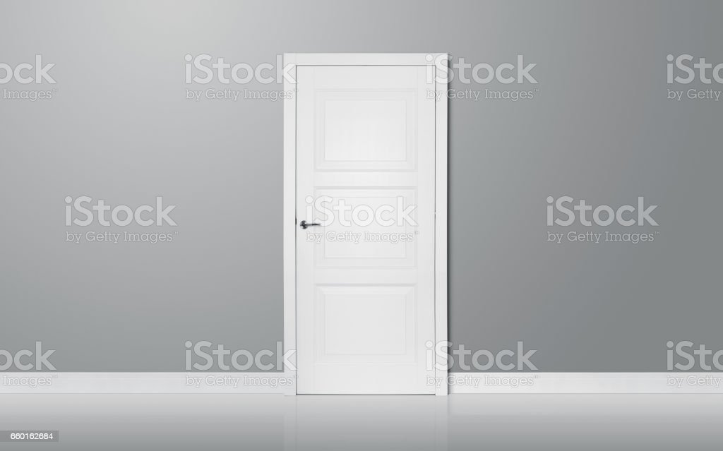The door stock photo