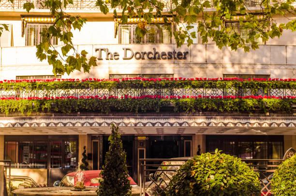 El Hotel Dorchester, Londres - foto de stock