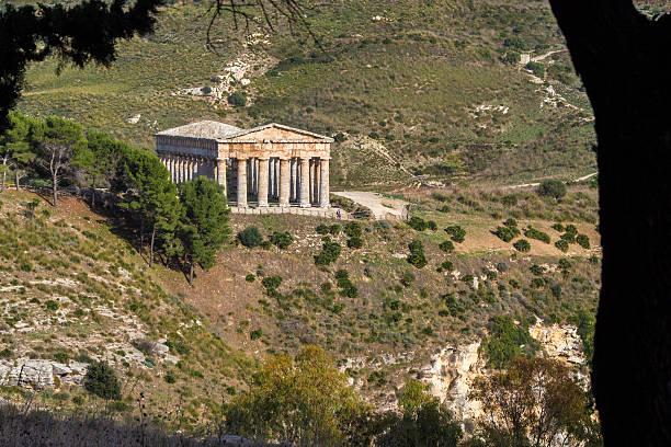 Die dorischen Tempels von Segesta – Foto