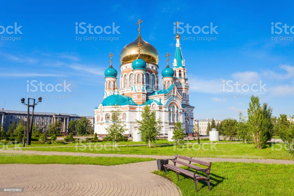 The Dormition Cathedral, Omsk - Photo
