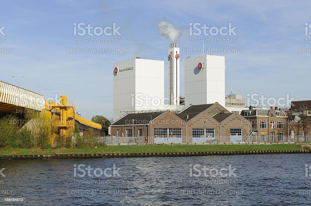 The Douwe Egberts coffee factory in Utrecht