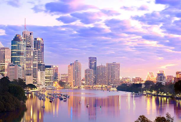Der Innenstadt von Brisbane – Foto