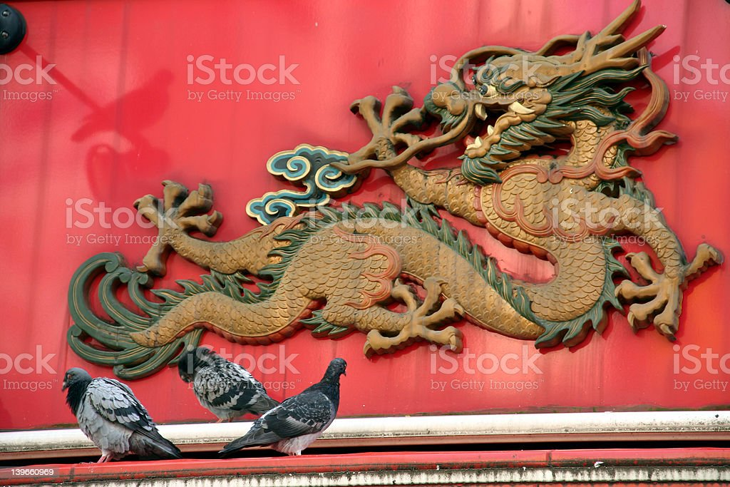 the dragon stock photo
