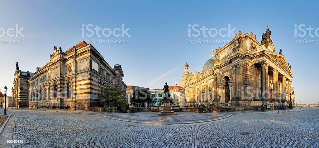 The Dresden Academy of Fine Arts stock photo
