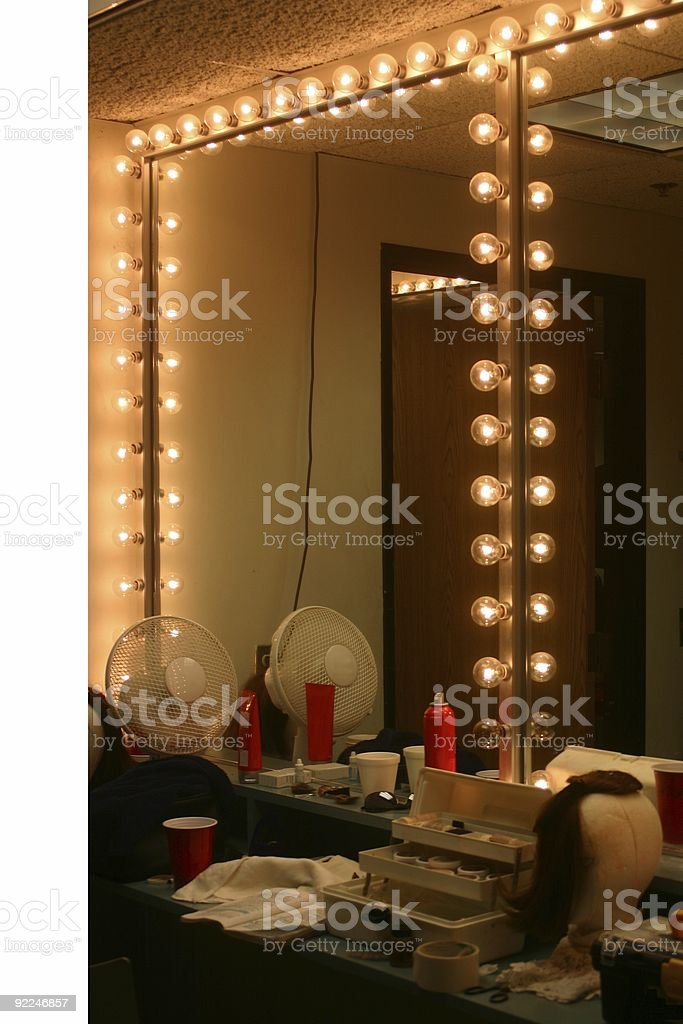 The Dressing Room stock photo