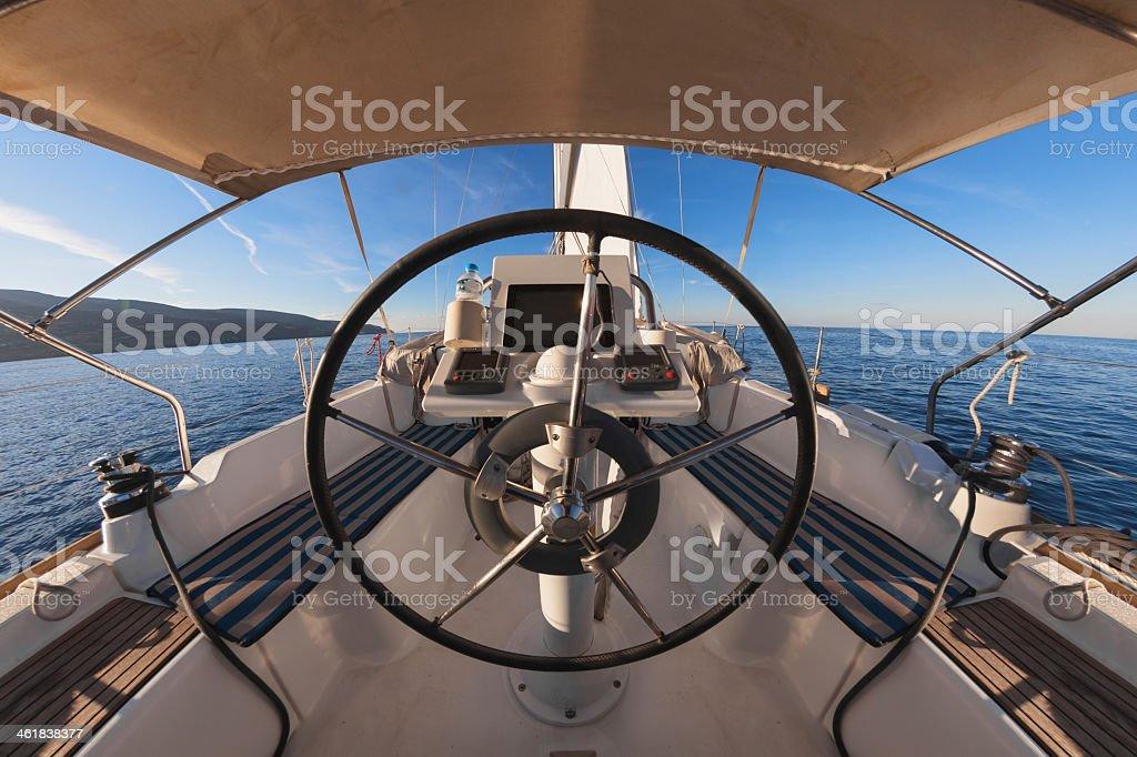 À l'intérieur d'un cockpit - Photo