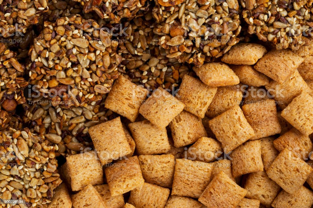 the dry cereal stock photo