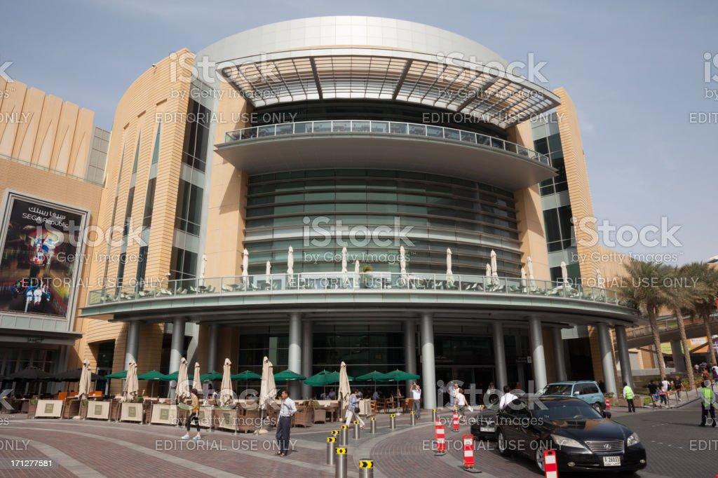 The Dubai Mall royalty-free stock photo