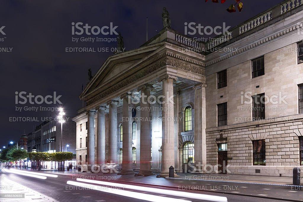 The Dublin Post royalty-free stock photo