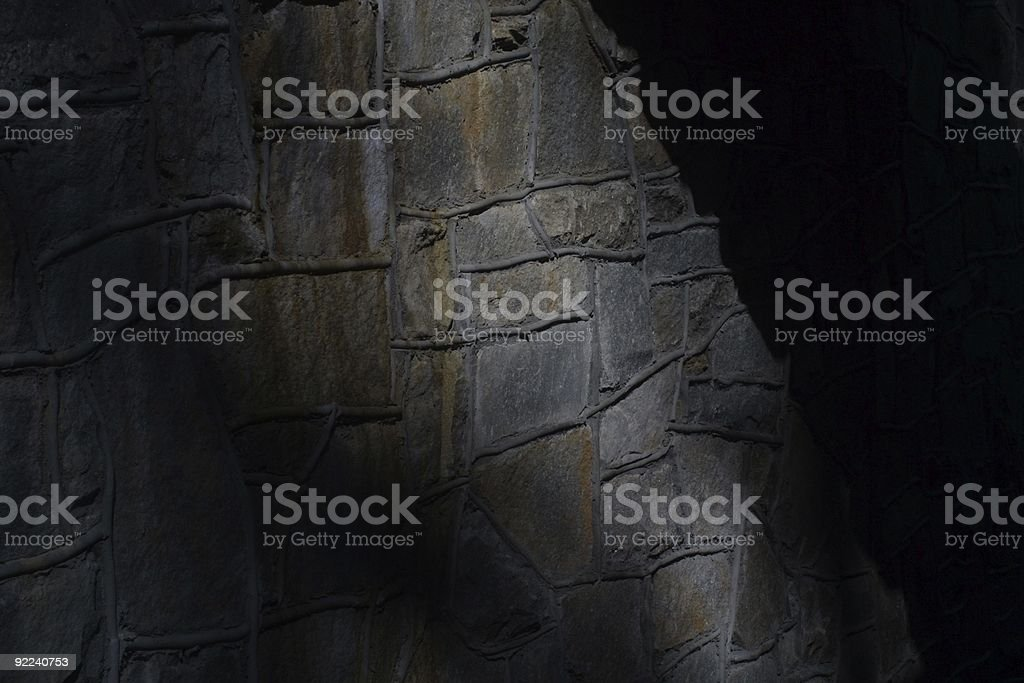 The Dungeon Wall stock photo