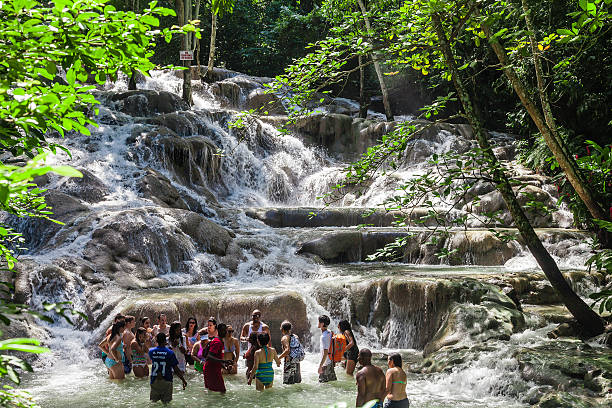 The Dunn's River Falls  in Jamaica – Foto