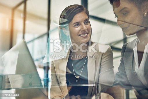 istock The duo that gets things done 672906400