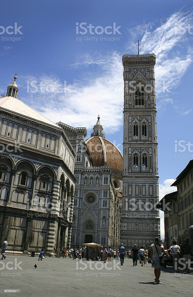 The Duomo Florence royalty-free stock photo