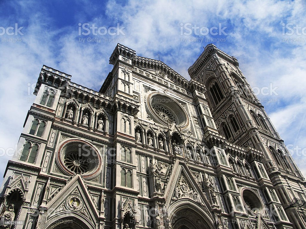 The Duomo in Florence royalty-free stock photo
