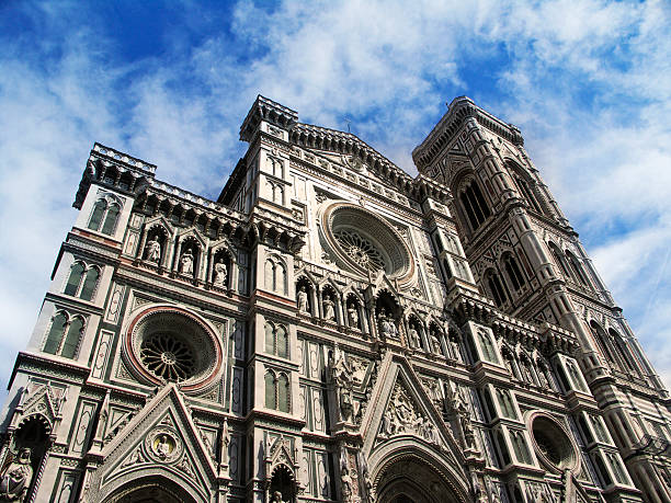 The Duomo in Florence stock photo