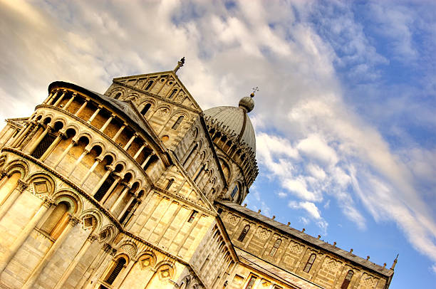 The Duomo of Pisa, Italy  galileo galilei stock pictures, royalty-free photos & images