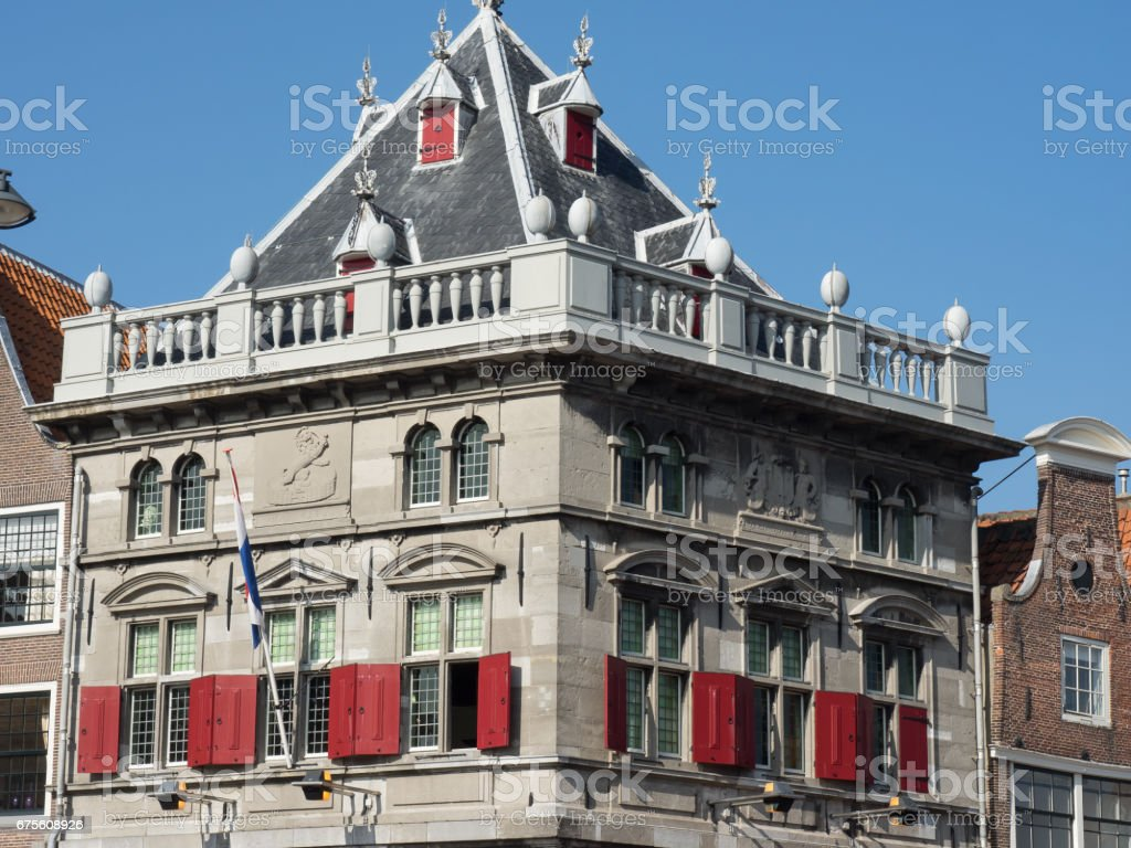 the dutch city haarlem foto de stock royalty-free