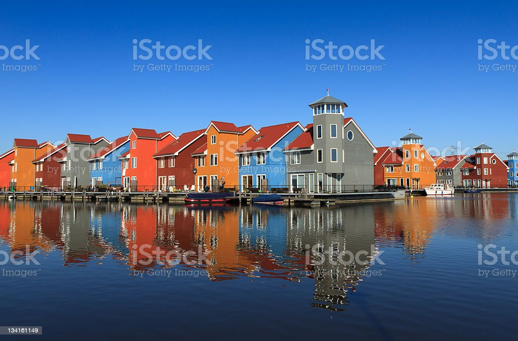 The Dutch: living with water stock photo