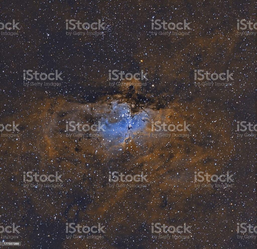 M16, The Eagle Nebula stock photo