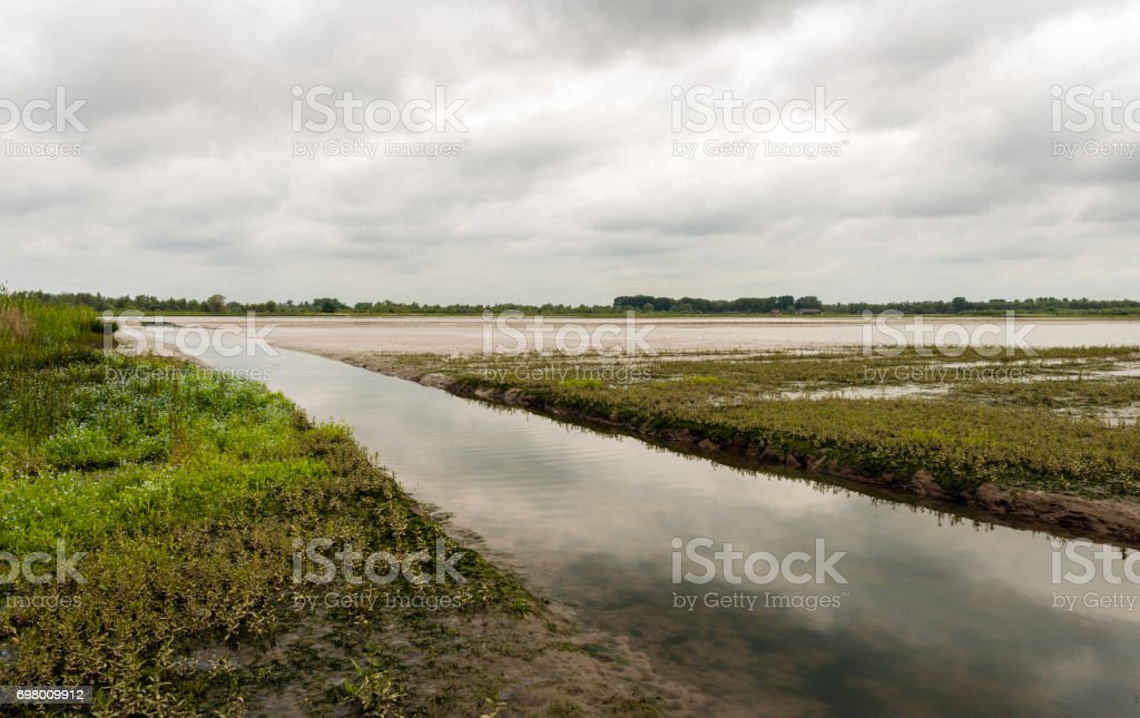The earth was formless and desolate stock photo
