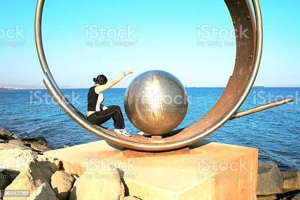 Foto de A Terra Mar E Uma Menina e mais fotos de stock de Adolescente