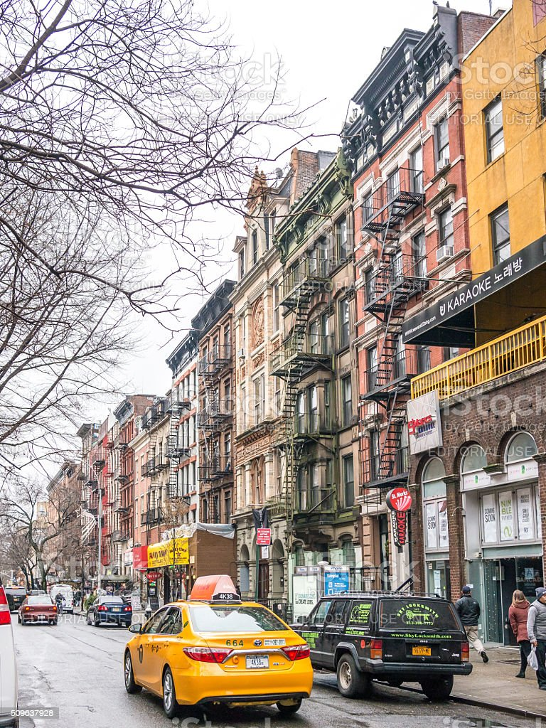 The East Village stock photo