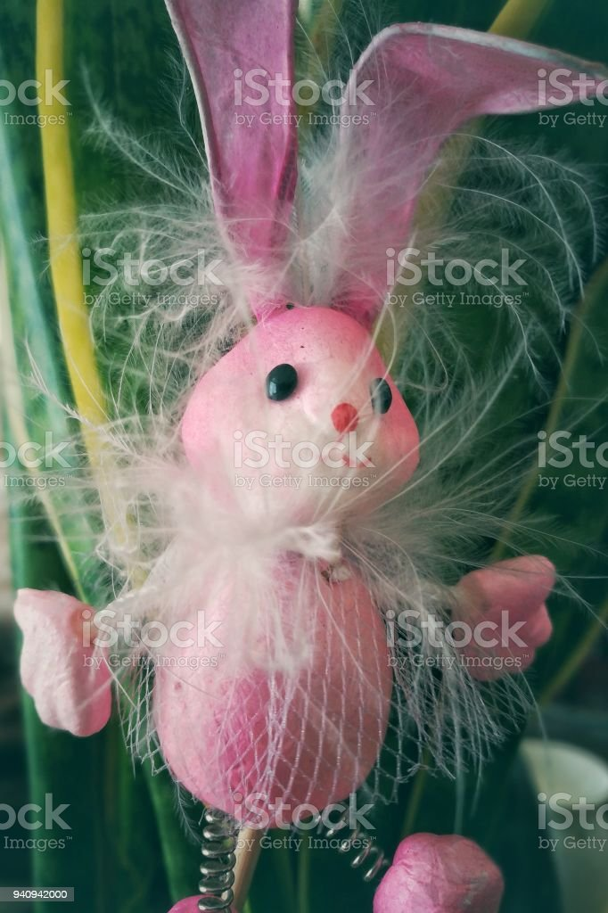 The easter rabbit - foto stock