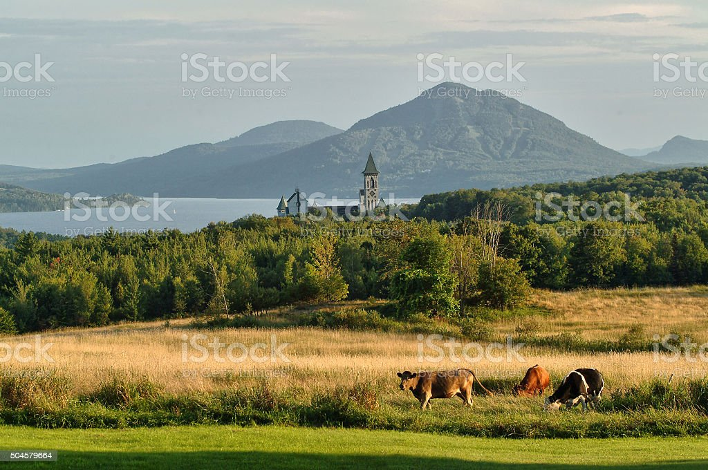 The Eastern Townships stock photo