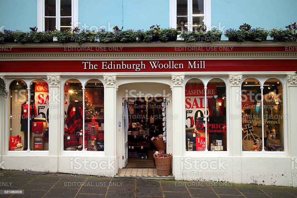 The Edinburgh Woollen Mill Stock Photo Download Image Now Istock