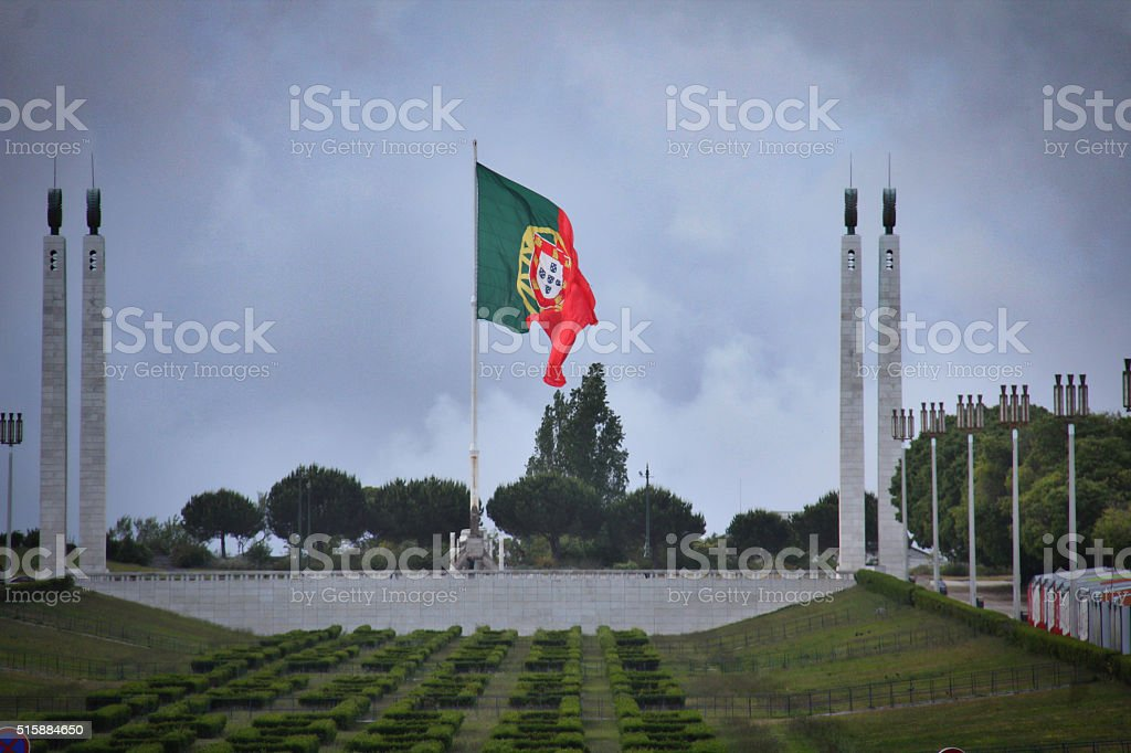El parque de Eduardo VII - foto de stock