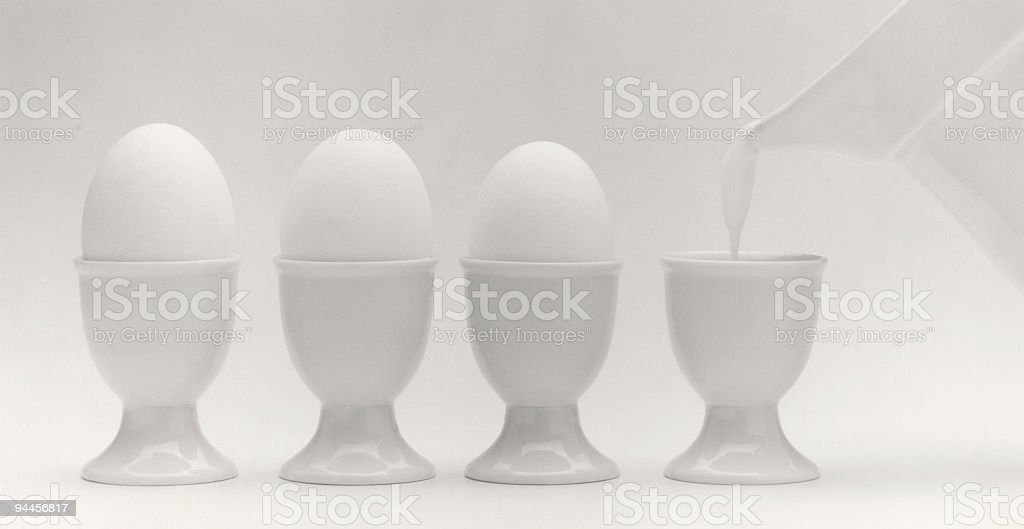 The Egg Factory stock photo