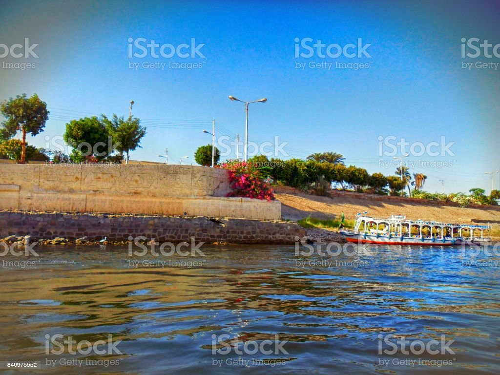 The Egypt, The River Nile stock photo