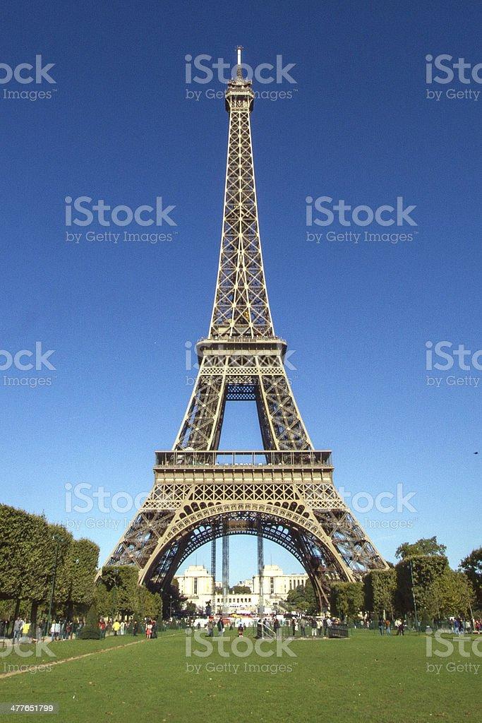 The Eiffel Tower, Paris royalty-free stock photo