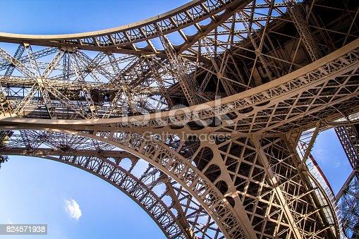 istock Paris, France - September 25, 2016: The Eiffel Tower 824571938