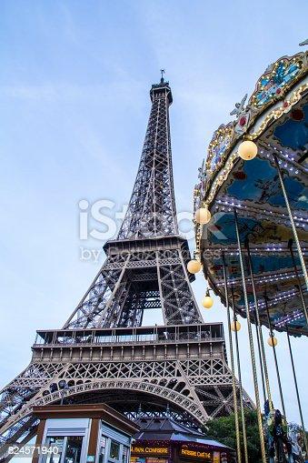 istock Paris, France - September 25, 2016: The Eiffel Tower 824571940
