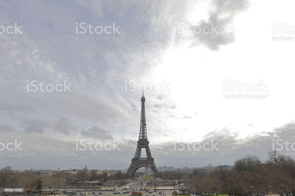 Der Eiffelturm  - Lizenzfrei Eiffelturm Stock-Foto