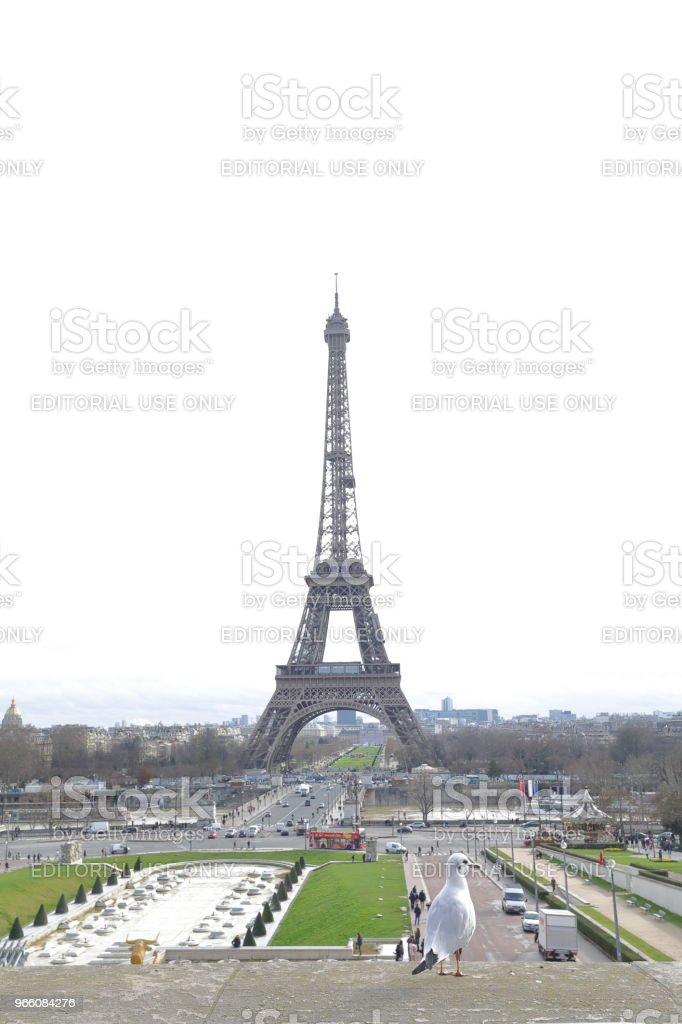 The Eiffel Tower - Royalty-free Ao Ar Livre Foto de stock